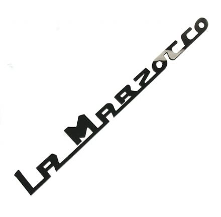 LA MARZOCCO CUSTOM 240mm ACRYLIC NEW LOGO (BLACK)